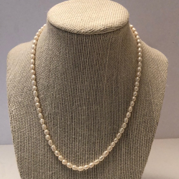 Vintage antique pearl seed necklace